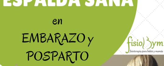 Curso ESPALDA SANA en Embarazo y Posparto