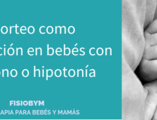 El porteo ergonómico como estimulación en bebés con hipotonía o bajo tono