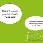 """Mochila ergonómica para recién nacido """"Marsupi"""""""