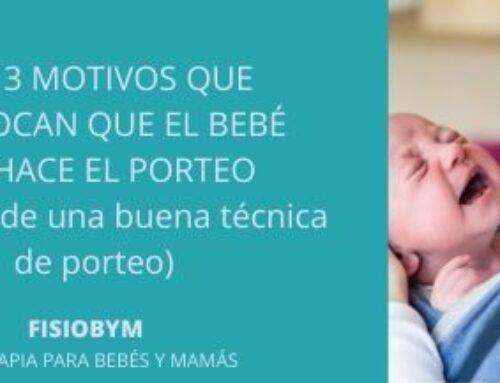 Los 3 motivos que provocan que el bebé rechace del porteo  (a pesar de una buena técnica de porteo)